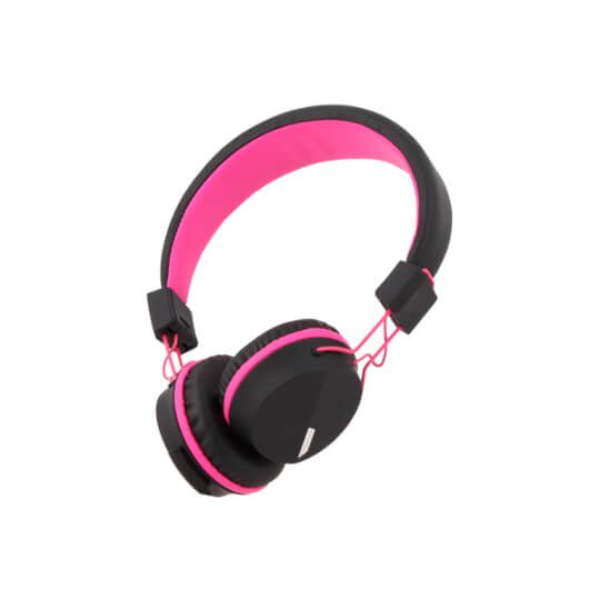 roze kurio kinderhoofdtelefoon